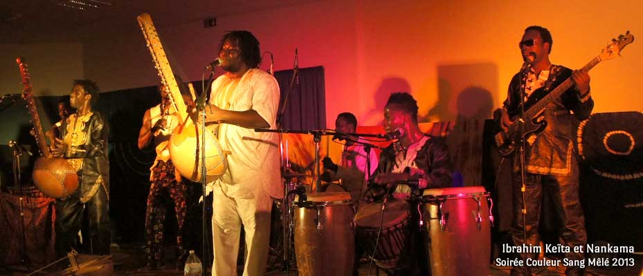 Ibrahim Keïta et Nankama - Soirée Couleur Sang Mêlé 2013