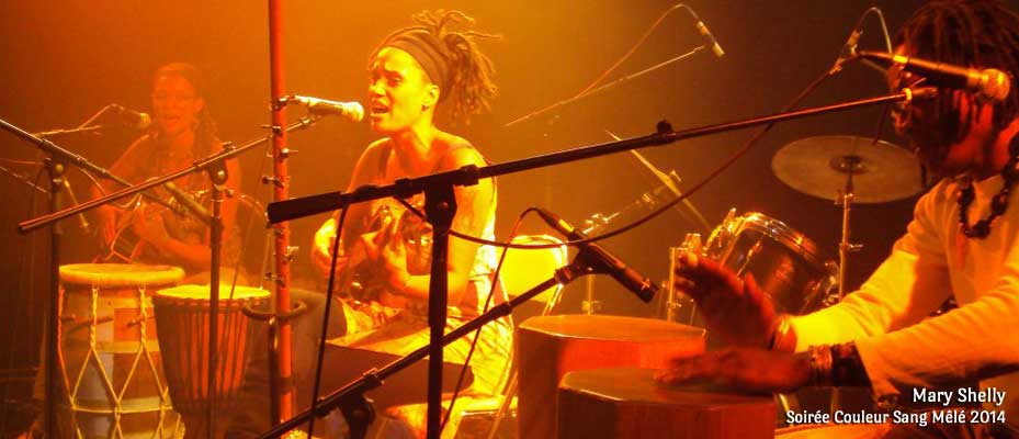 Mary Shelly - Soirée Couleur Sang Mêlé 2011 - « Les 10 ans Salle de la Cité ! » - Photo Ianis